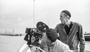 """A040.39A - Dreharbeiten zum Film """"Brücke zur Welt"""" (1950)"""